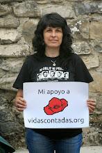 Photo: Activista de Col.lectiu Republicà del Baix Llobregat. Foto tomada en Bidankotze/Vidangoz (Nafarroa).