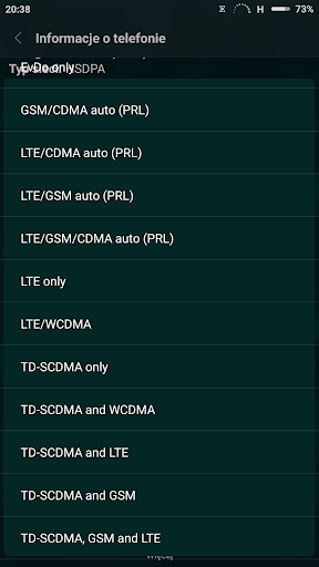 Force LTE Only  screenshots 2