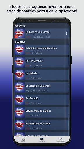 radio nueva vida screenshot 2