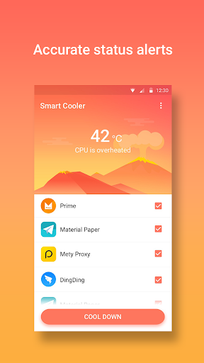 Smart Cooler - Phone Cooler & CPU Temp Controller for PC