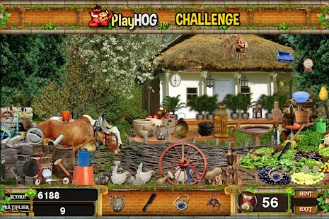 Challenge #38 Small Town Free Hidden Objects Games - náhled
