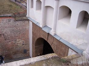 Photo: Netradiční pohled na Táborskou bránu - očima obránců pevnosti