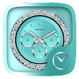 Tiffany GO Clock Theme apk