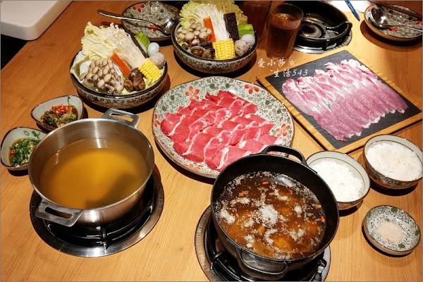 台中火鍋。湯棧火鍋~輕井澤三代店,主打麻油火鍋、燒酒火鍋、冷藏肉!大推麻油火鍋!