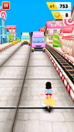 Surffing Princess: Endless Running - screenshot