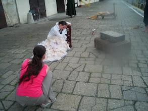 """Photo: Eliza z PAGAL FOTO robi zdjęcia z próby projektu """"Miasto Syren / Nocny Pociąg"""" w dniu 10.07.2012;"""