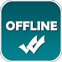 Offline Chat -no last seen, blue tick for WhatsApp icon