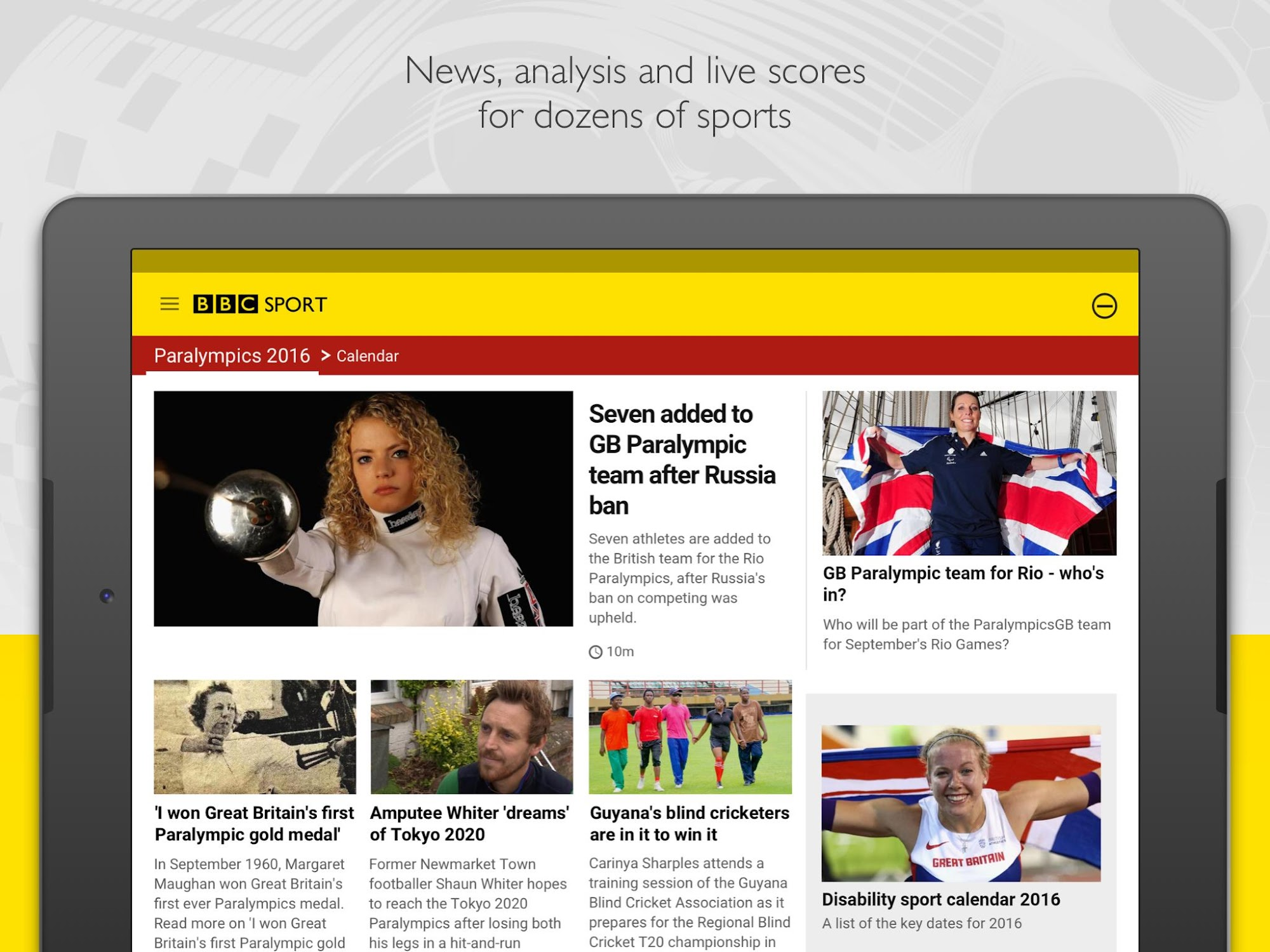 BBC Sport screenshot #13
