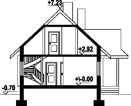 Zawoja dw - Przekrój