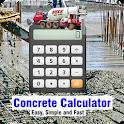 Concrete Calculator (Cement,Sand,Aggregate,Cost) icon