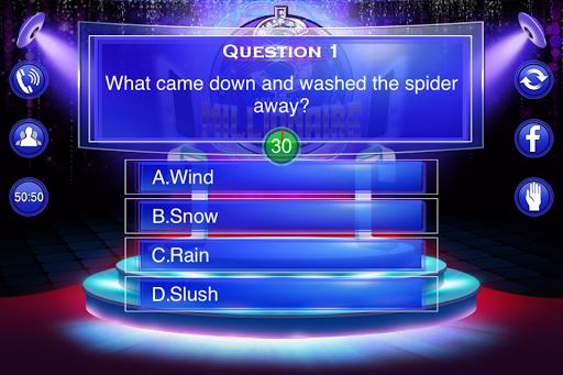Millionaire Quiz 2018 - Trivia Game Free 2.3 screenshots 4