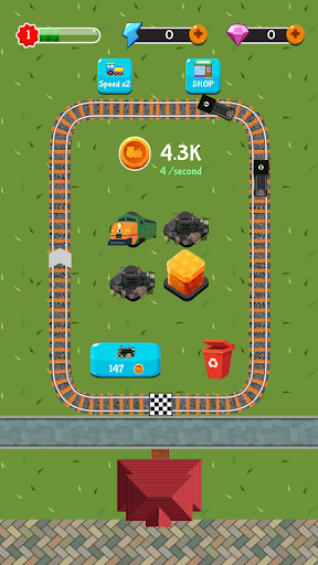 Train Station Manager - Idle Merge Game cheat screenshots 3