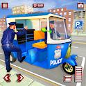 US Police Tuk Tuk Simulator icon