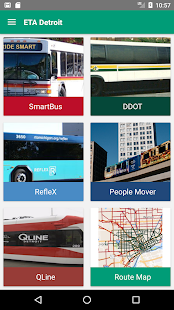 ETA Detroit: DDOT Smart Reflex - náhled