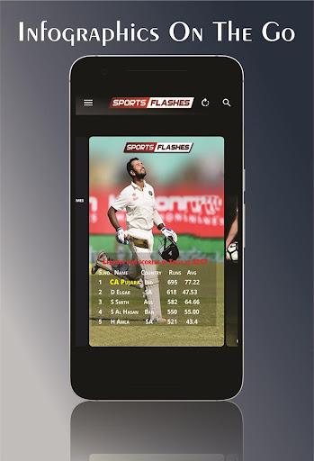 SportsFlashes - Sports Radio, TV, Scores & Updates 5.6 screenshots 5