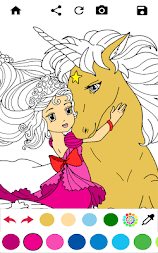 Unicorn Coloring Pages – Pony Coloring Book APK screenshot thumbnail 6