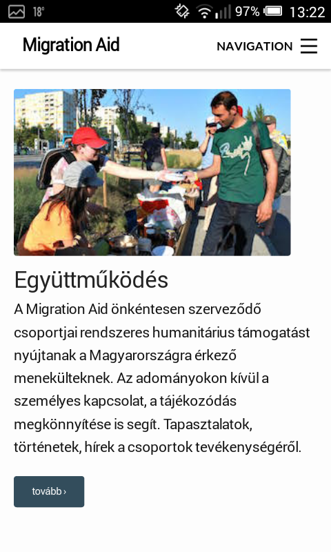 Migration Aid- screenshot