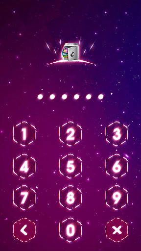 Screenshot AppLock Live Theme Dazzle light