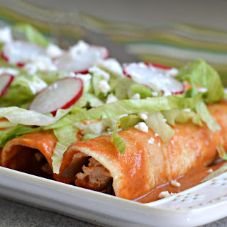 The Best Red Enchilada