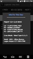 Screenshot of Pilot eLog - Pilot LogBook