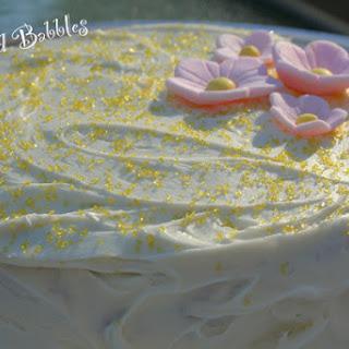 Banana Applesauce Cake with Banana Cream Cheese Icing