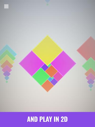 Isometric Squares - puzzle u00b2  screenshots 11