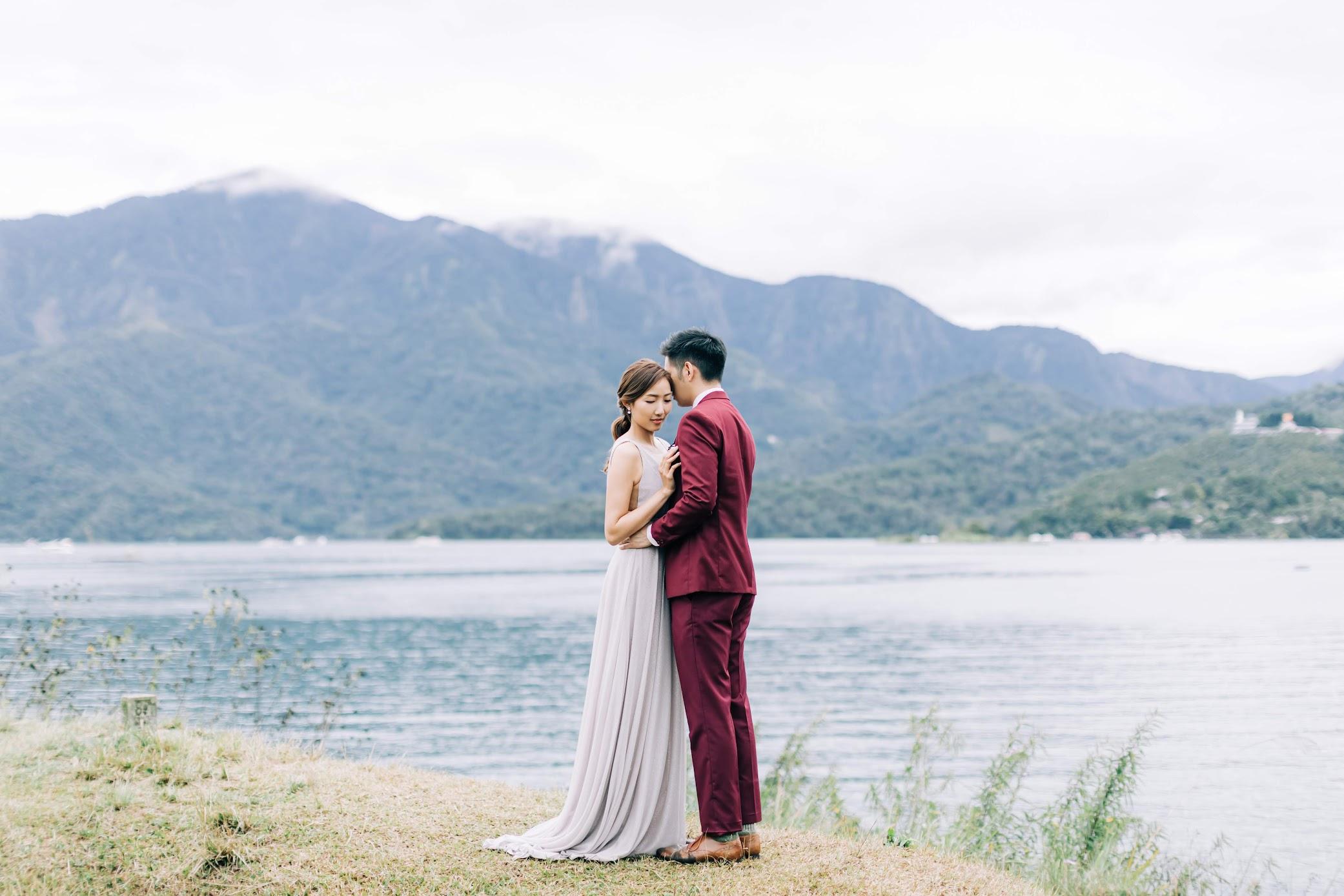 香港新人來 日月潭 影婚紗,都找Amazing Grace攝影美學