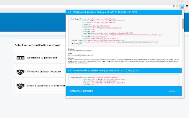 SAML Message Decoder