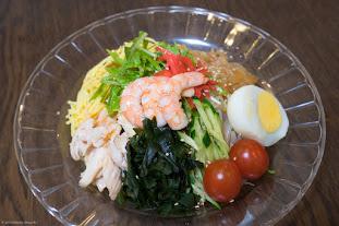 黒千石レシピ:No.8 冷やしラーメン