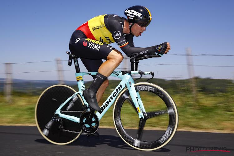 Deux mois après sa chute, Wout Van Aert remonte sur un vélo