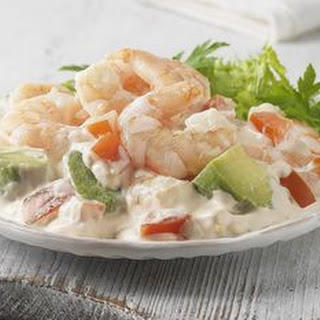 Shrimp Salad with Creamy Fresh Herb Dressing.