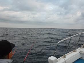 Photo: ・・・アンカー潮でやりにくい。