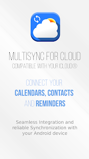 MultiSync for Cloud – compatible with iCloud® - náhled
