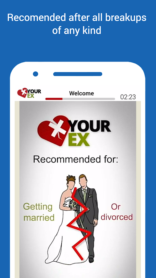 X your Ex - Break Up Treatment- screenshot