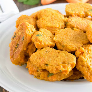 Skinny Carrot Fritters [Vegan].