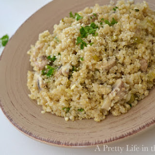 Mushroom and Herb Quinoa Recipe