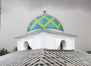 Photo: kubah masjid Baiturrahman angsana tanah bumbu kalimantan selatan