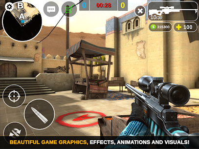 Counter Attack – Multiplayer FPS MOD (Unlimited Money) Full App+Data 10