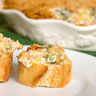 Cheesy Broccoli Bacon Dip.