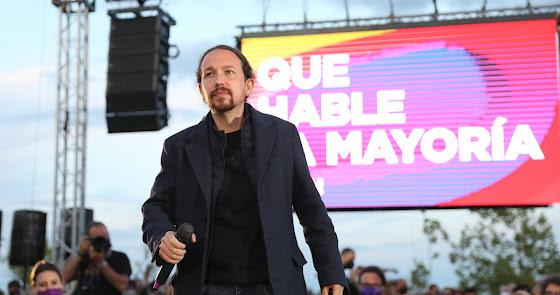 Pablo Iglesias deja la política tras los resultados electorales en Madrid