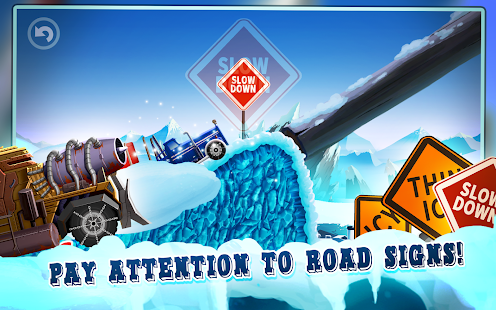 Truck Driving Race 2: Ice Road Screenshot