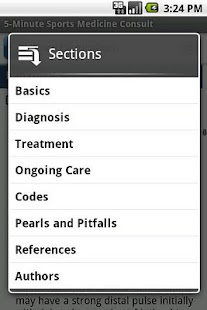 5-Minute Sports Medicine Screenshot