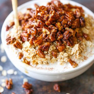Pecan Pie Overnight Oats