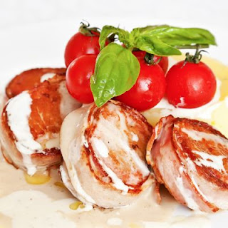 Tender Bacon-Wrapped Pork Medallions Recipe