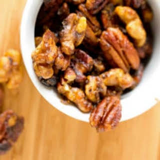 Sweet Spicy Mixed Nuts Recipes.