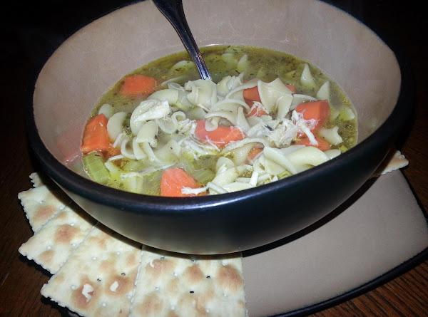 Mama's Feel Better Chicken Soup Recipe