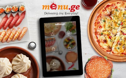 Menu.ge — restaurant food delivery- screenshot thumbnail