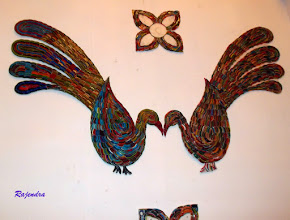 Photo: Decoration - made of glass bangles