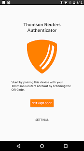 Thomson Reuters Authenticator - náhled