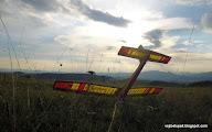 Photo: končí deň a leto, vzadu za kopcom Folkušová.